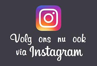 Volg ons op Instagram voor de mooiste plaatjes!